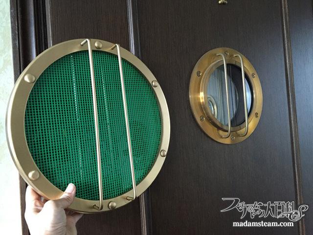 船舶窓のグリーン