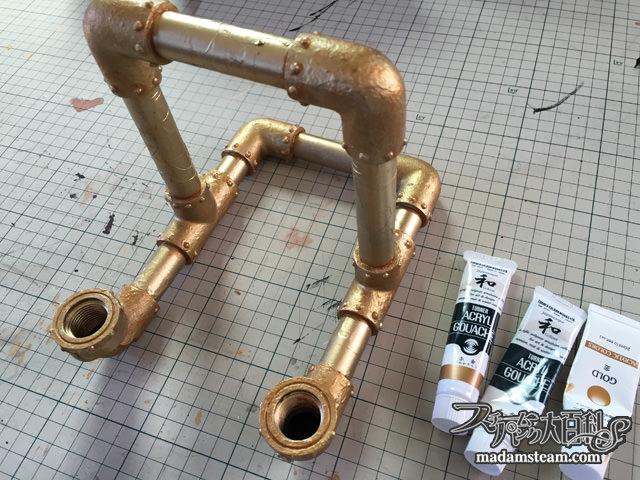 塩ビ管で作るiPad(タブレット)スタンド
