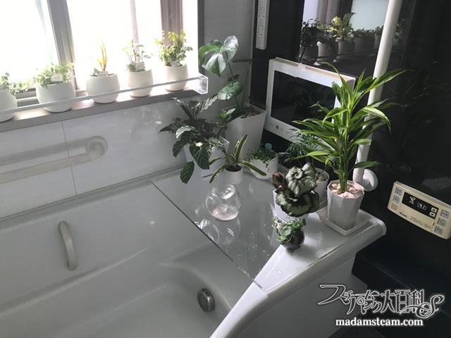 お風呂のアクリル板