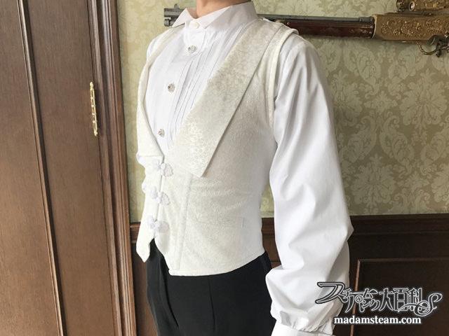 礼装用コルセットベスト
