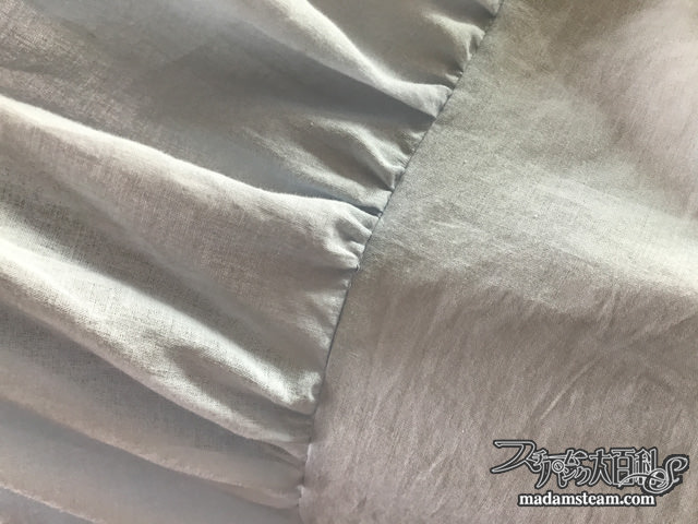 ベッドスカートの作り方