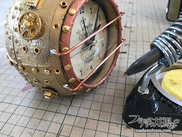 20000 Leagues Under the Sea Diving Helmet Clock