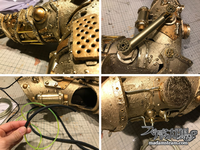 Steampunk Mechanical Arm by Chris Huebert