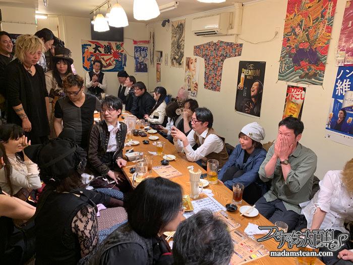 寿司ームパンク会!