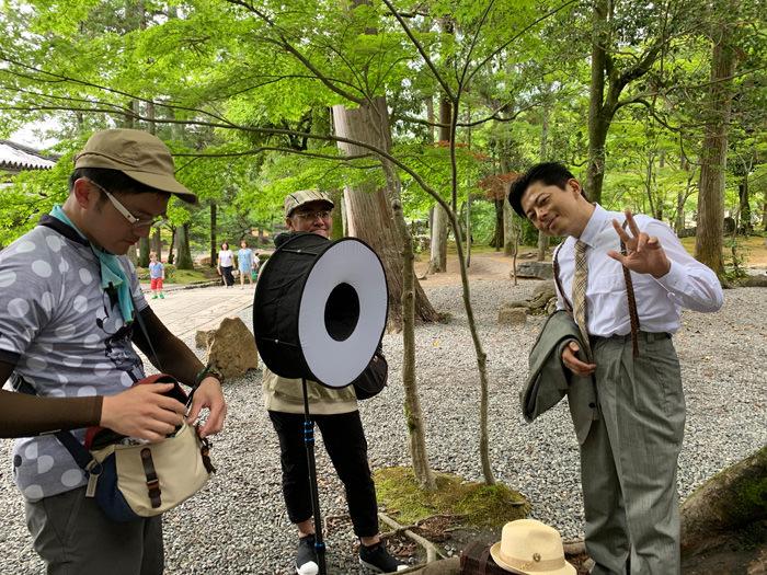 たお君&あかつき君の京都・大阪撮影会