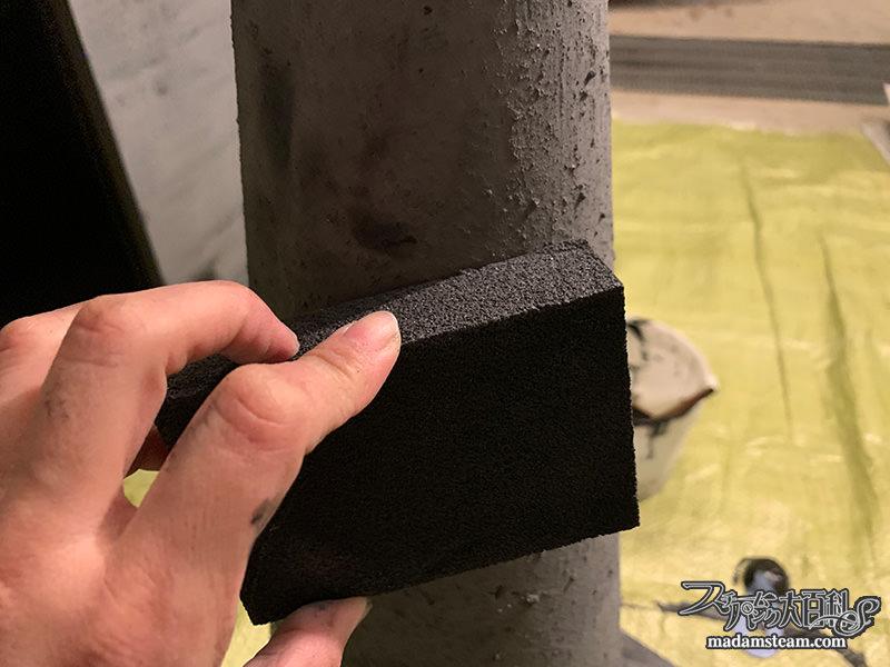 タカラ塗料アイアン風ペイントで塗装