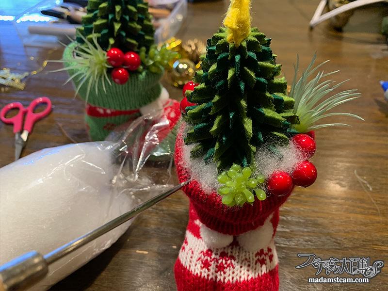 100円ショップの材料で作るクリスマス飾り