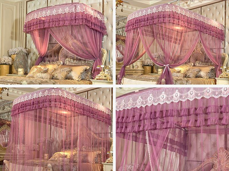 ロマンチックな天蓋ベッド
